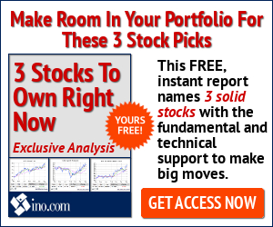 3 Stocks You Should Own Right Now - Click Here!