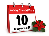 Holiday Special-10 Days Left