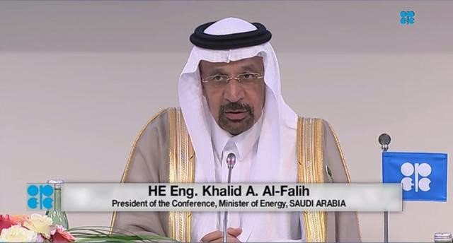 Saudi Arabia's Minister of Energy, Industry and Mineral Resources, Khalid A. Al-Falih