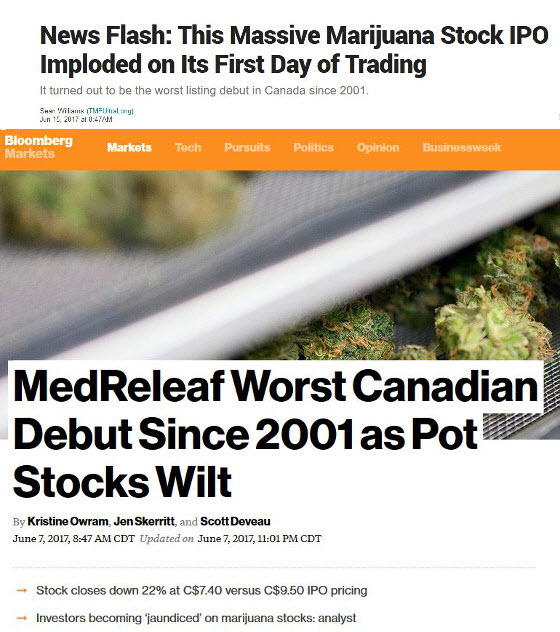 Canadian Cannabis IPO